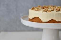 Beetroot and Carrot Cake with Caramel Frosting