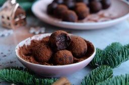 Raw Rum&Date Cacao Truffles