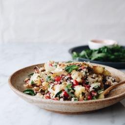 Cauliflower, Pomegranate & Pistachio Salad